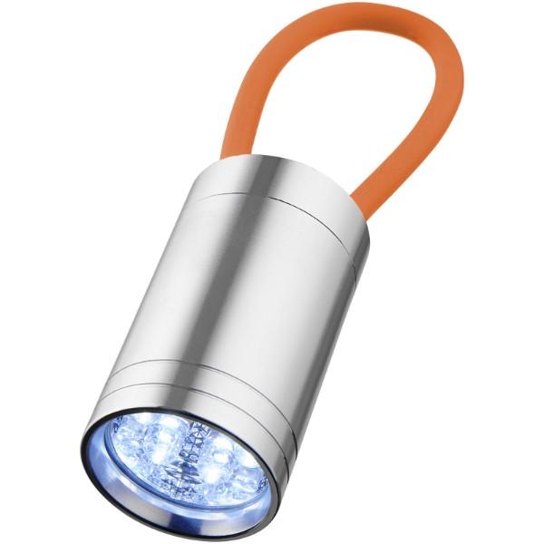 Svítilna Vela se 6 LED a svítícím popruhem