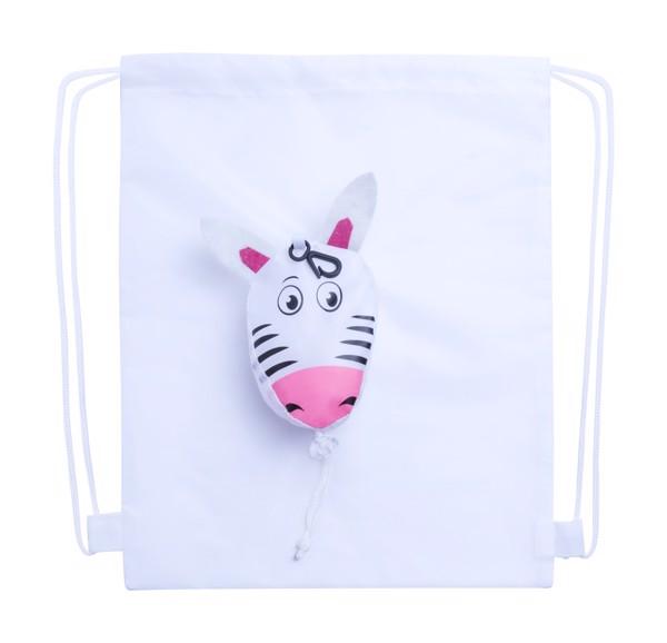 Vak Na Stažení Šňůrkou Kissa, Zebra