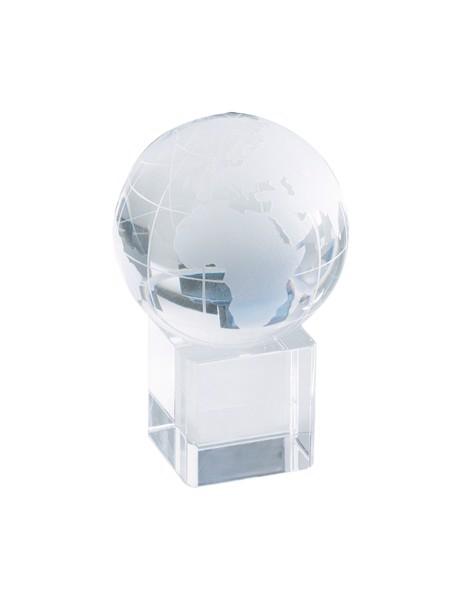 Těžítko - Glóbus Satelite, Vhodný Pro 3D Laser - Průhledná