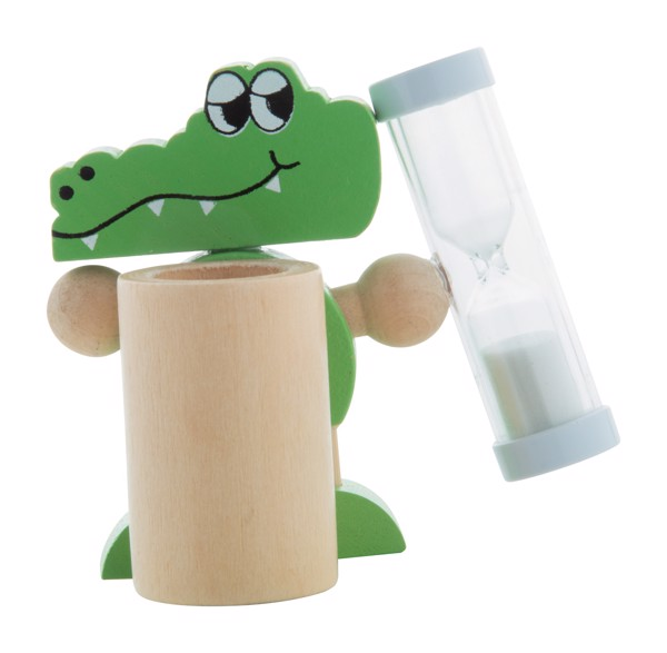 Stojánek Na Zubní Kartáček Crocky - Zelená